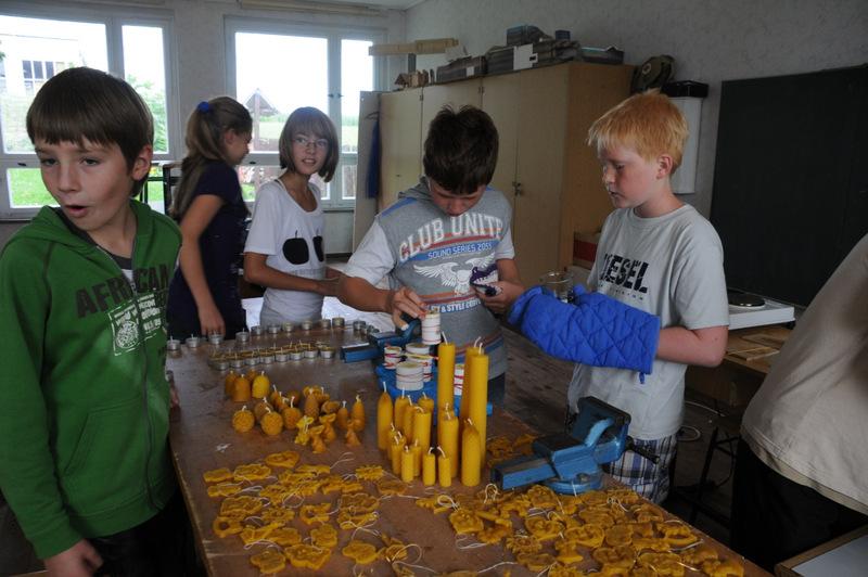 Kerzen aus Bienenwachs