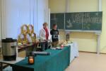 Weihnachtsmarkt in der Regelschule in Langenwetzendorfn