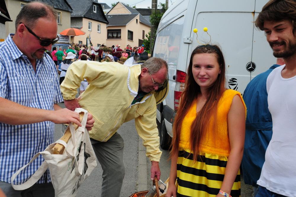 750-Jahrfeier in Langenwetzendorf